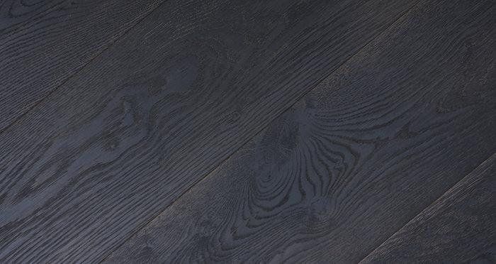 Midnight Old French Oak Super Matt Lacquered Engineered Wood Flooring - Descriptive 6