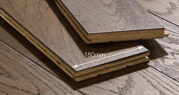 Luxury Espresso Oak Solid Wood Flooring - Descriptive 3