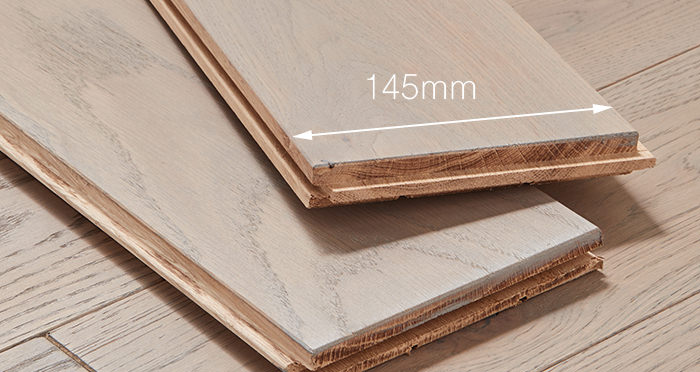 Deluxe Silk Grey Oak Solid Wood Flooring - Descriptive 3