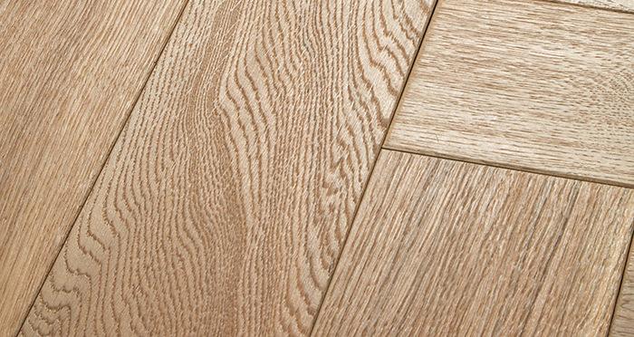 Luxury Parquet Vanilla Oiled Oak Solid Wood Flooring - Descriptive 1