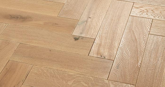 Luxury Parquet Vanilla Oiled Oak Solid Wood Flooring - Descriptive 2