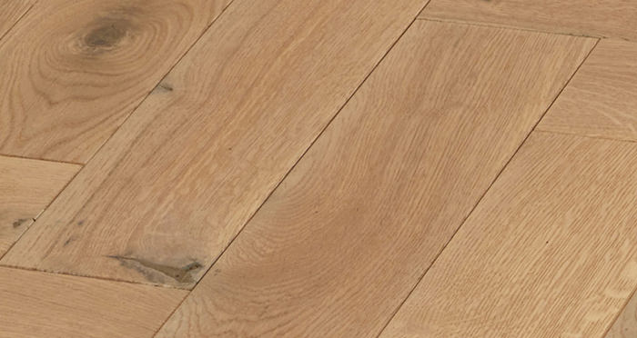Luxury Parquet Vanilla Oiled Oak Solid Wood Flooring - Descriptive 3