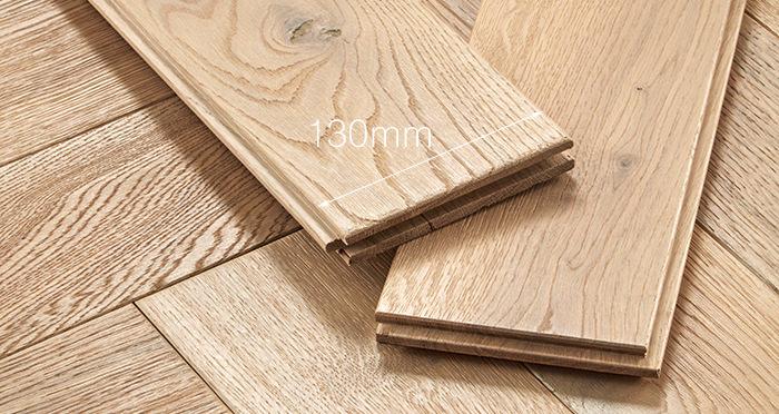 Luxury Parquet Vanilla Oiled Oak Solid Wood Flooring - Descriptive 4
