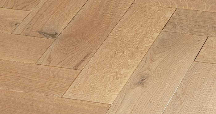 Luxury Parquet Vanilla Oiled Oak Solid Wood Flooring - Descriptive 6