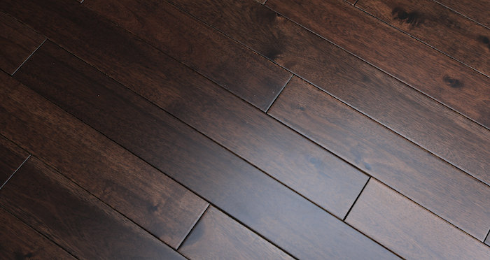Antique Acacia Lacquered Solid Wood Flooring - Descriptive 2