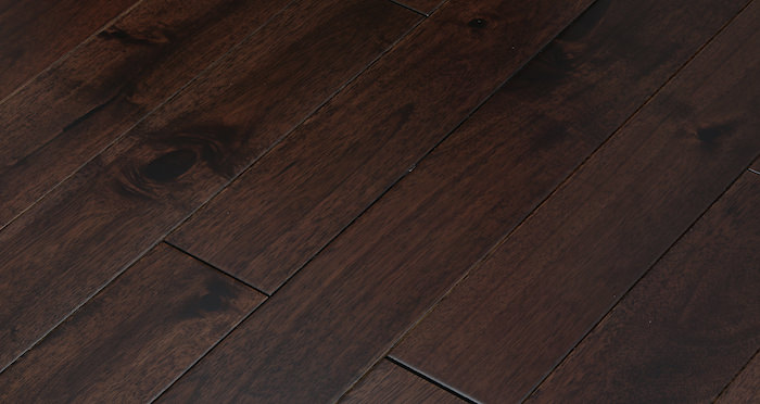 Antique Acacia Lacquered Solid Wood Flooring - Descriptive 3