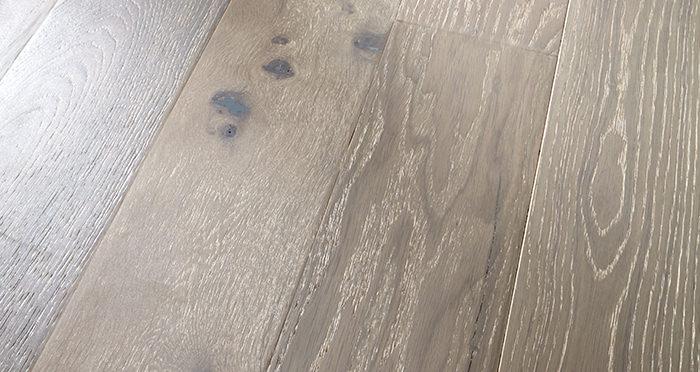Loft Pearl Grey Oak Brushed & UV Lacquered Engineered Wood Flooring - Descriptive 1