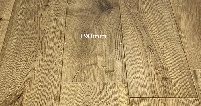 Trade Select 14mm x 190mm Brushed & Oiled Engineered Wood - Descriptive 2