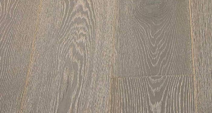 Whitewashed Luxury Platinum Oak Engineered Wood Flooring - Descriptive 1