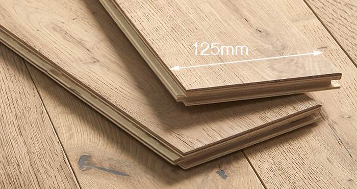 Studio Vanilla Oak Brushed & Oiled Engineered Wood Flooring - Descriptive 4