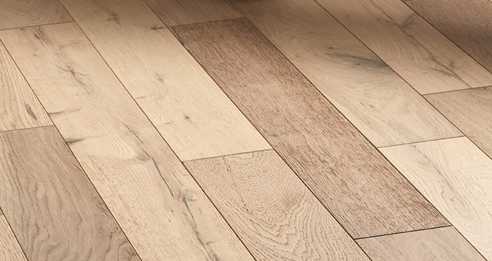 Studio Vanilla Oak Brushed & Oiled Engineered Wood Flooring - Descriptive 6