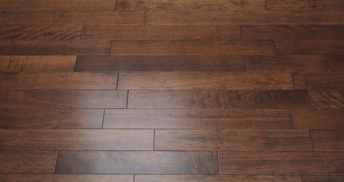 Pacific Mahogany Antique Lacquered Solid Wood Flooring - Descriptive 4