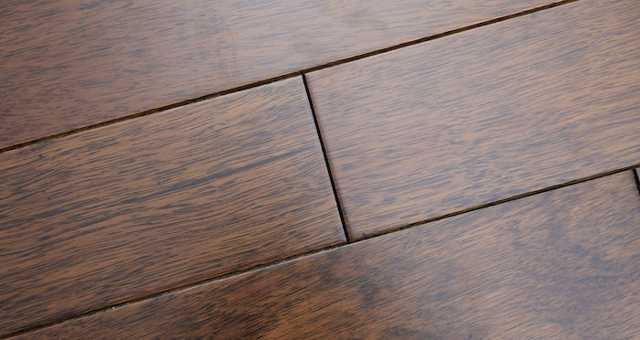 Pacific Mahogany Antique Lacquered Solid Wood Flooring - Descriptive 5