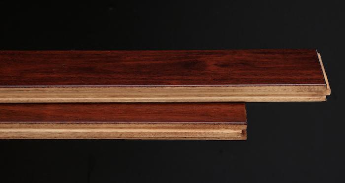 Royal Mahogany Narrow Solid Wood Flooring - Descriptive 1