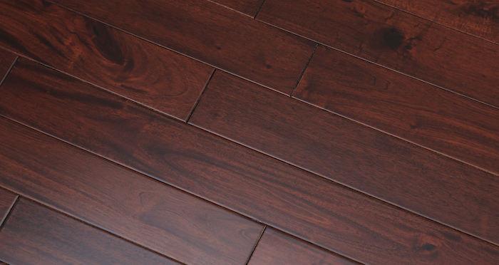 Royal Mahogany Narrow Solid Wood Flooring - Descriptive 3