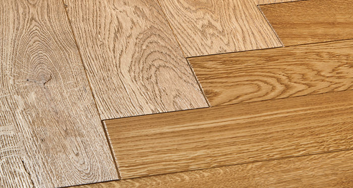 Luxury Parquet Golden Oiled Oak Solid Wood Flooring - Descriptive 1