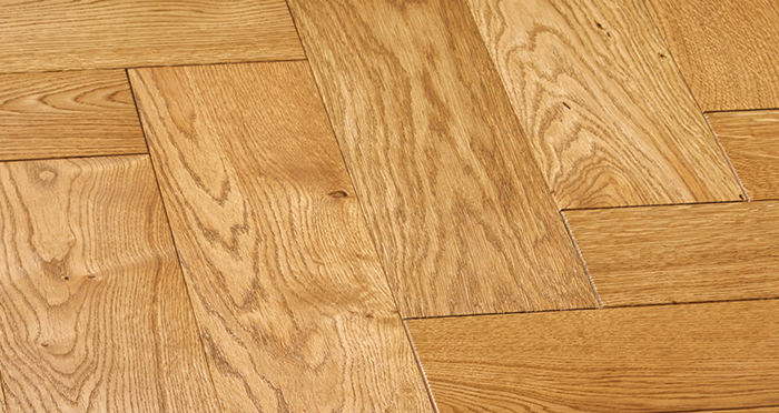 Luxury Parquet Golden Oiled Oak Solid Wood Flooring - Descriptive 6