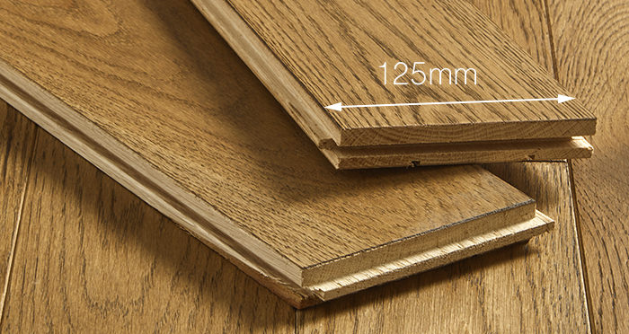 Elegant Georgian Oak Brushed & Oiled Solid Wood Flooring - Descriptive 3