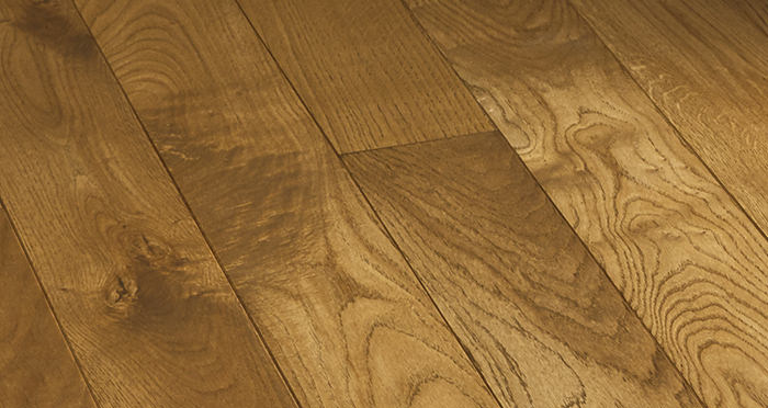 Elegant Georgian Oak Brushed & Oiled Solid Wood Flooring - Descriptive 5