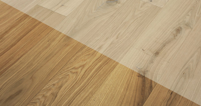 Supreme Unfinished Oak Engineered Wood Flooring - Descriptive 2