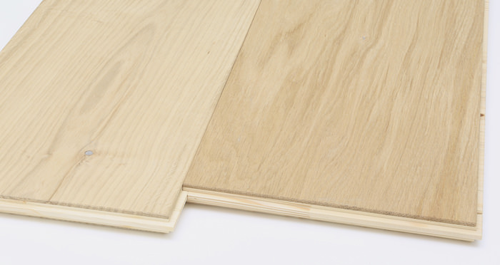 Supreme Unfinished Oak Engineered Wood Flooring - Descriptive 7
