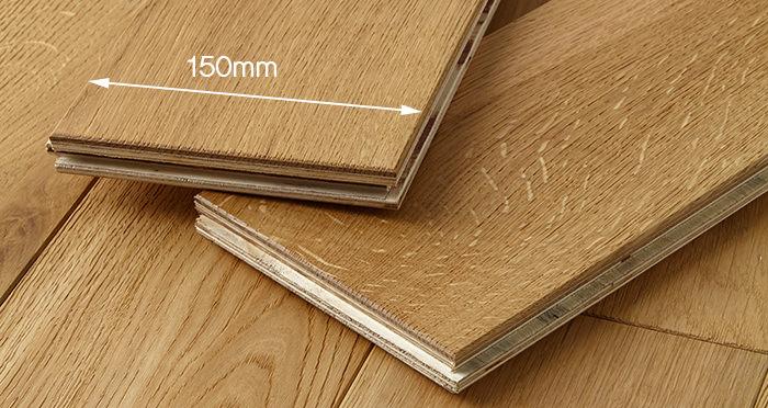 Manor Natural Oak Brushed & Oiled Engineered Wood Flooring - Descriptive 3