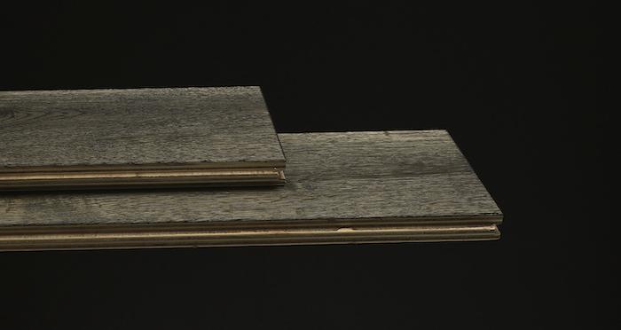 Aged Cottage Oak Brushed & Lacquered Engineered Wood Flooring 150mm Wide - Descriptive 1