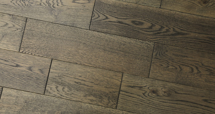 Aged Cottage Oak Brushed & Lacquered Engineered Wood Flooring 150mm Wide - Descriptive 2