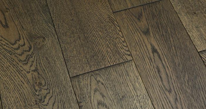 Aged Cottage Oak Brushed & Lacquered Engineered Wood Flooring 150mm Wide - Descriptive 4