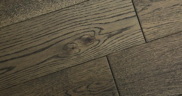 Aged Cottage Oak Brushed & Lacquered Engineered Wood Flooring 150mm Wide - Descriptive 6