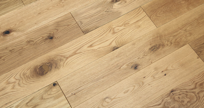 Luxury Natural Bourgoyne Oak Brushed & Oiled Solid Wood Flooring - Descriptive 1