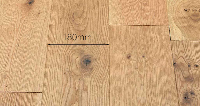 Luxury Natural Bourgoyne Oak Brushed & Oiled Solid Wood Flooring - Descriptive 3