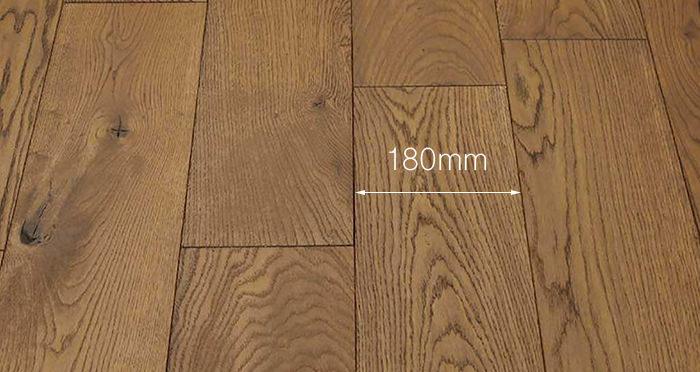 Luxury Georgian Oak Solid Wood Flooring - Descriptive 3