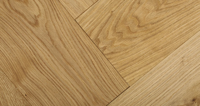 Prestige Herringbone Natural Oak Oiled Engineered Wood Flooring - Descriptive 2