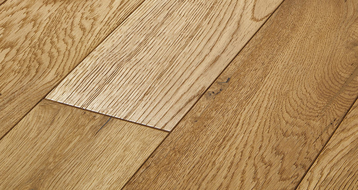 Studio Natural Oak Brushed & Oiled Engineered Wood Flooring - Descriptive 1