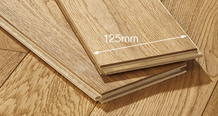 Studio Natural Oak Brushed & Oiled Engineered Wood Flooring - Descriptive 4