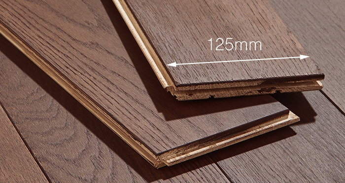 Chocolate Oak 125mm Oiled Solid Wood Flooring - Descriptive 4