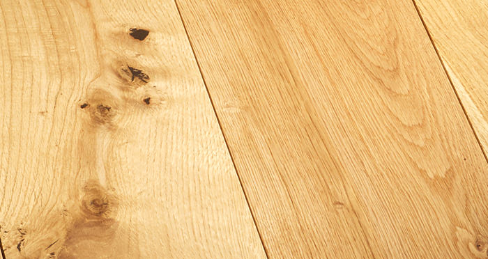 Prestige Caramel Oak Solid Wood Flooring - Descriptive 2