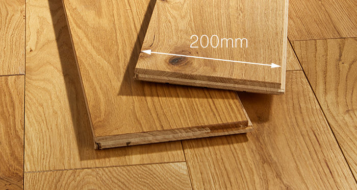 Prestige Caramel Oak Solid Wood Flooring - Descriptive 3
