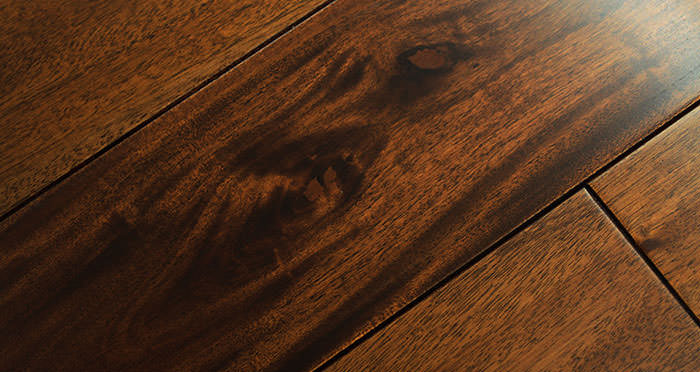 Royal Mahogany Lacquered Solid Wood Flooring - Descriptive 3