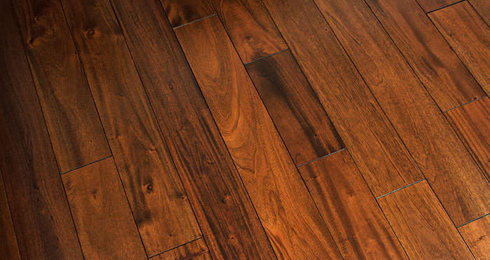 Royal Mahogany Lacquered Solid Wood Flooring - Descriptive 4
