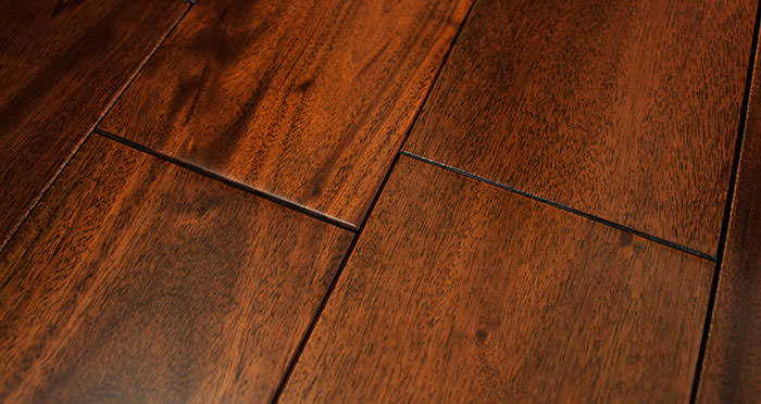Royal Mahogany Lacquered Solid Wood Flooring - Descriptive 5