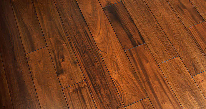 Royal Mahogany Lacquered Solid Wood Flooring - Descriptive 6