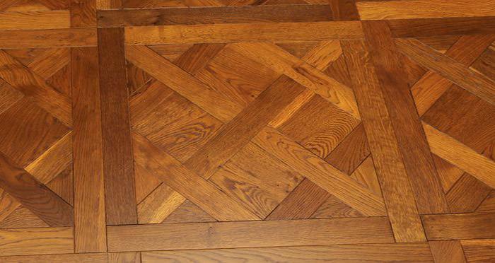 Montpellier Golden Smoked Oak Brushed & Oiled Versailles Tile Engineered Wood Flooring - Descriptive 6