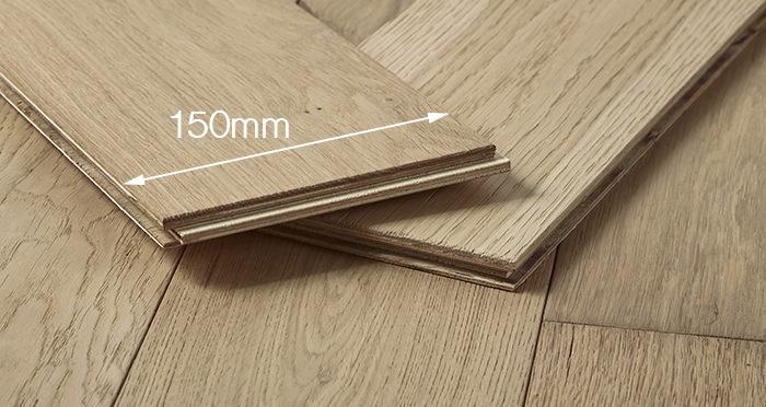 Loft Vanilla Oak Brushed & Oiled Engineered Wood Flooring - Descriptive 4