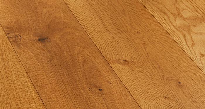 Farmhouse Antique Golden Oak Brushed & Oiled Engineered Wood Flooring - Descriptive 5