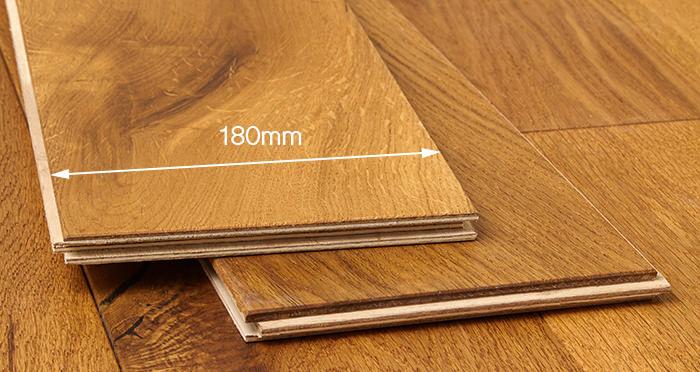 Old Country Antique Golden Oak Brushed & Oiled Engineered Wood Flooring - Descriptive 3