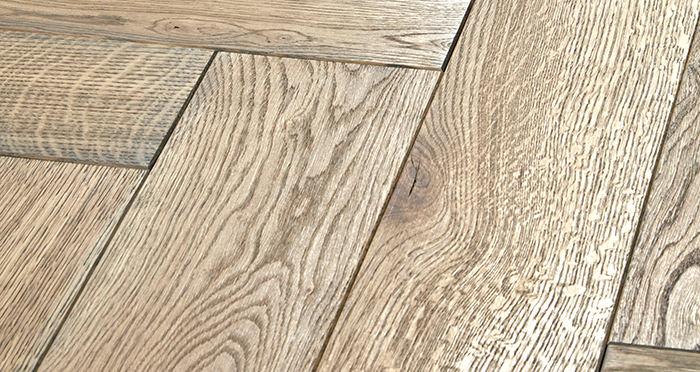 Luxury Parquet Grey Oiled Oak Solid Wood Flooring - Descriptive 1