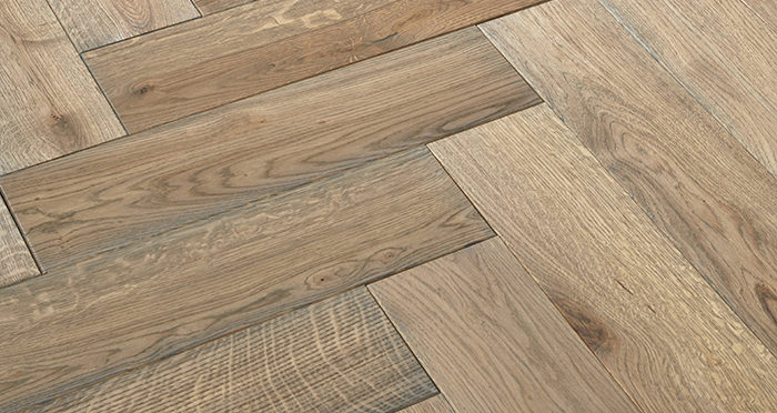 Luxury Parquet Grey Oiled Oak Solid Wood Flooring - Descriptive 2