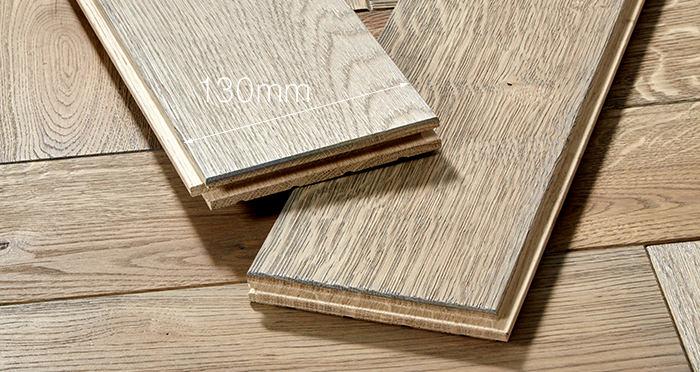 Luxury Parquet Grey Oiled Oak Solid Wood Flooring - Descriptive 4